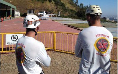Depoimentos Resgatistas Nerea – Resgate Helicóptero por Tirolesa